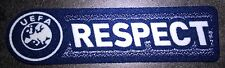 Patch Europe RESPECT maillot foot UEFA Ligue des Champions Saison 09/10 a 11/12
