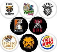 Joe Exotic 8 New 1 Inch #2 (25mm) Pinback Buttons Badges Pins Tiger King