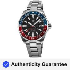 Nuevo Tag Heuer Aquaracer 300M Automático GMT Pepsi Reloj para hombres WAY201F.BA0927