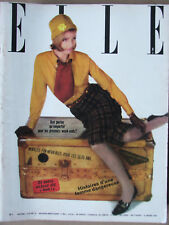 ELLE n°899 (15 mars 1963) Une robe pied de coq - Petite redingote - Coiffures