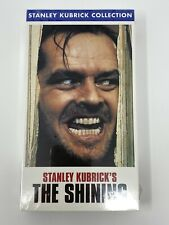 New listing New and Sealed The Shining Vhs, 1999, Stanley Kubrick Collection Jack Nicholson