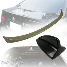 PKUK BMW OE-Type 3 Series E90 Boot Trunk Spoiler Rear Unpainted & Shark Fin