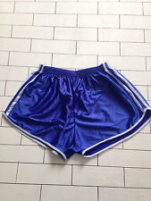 Mens Vintage Retro Sprinter Old School High Cut Sports Shorts SIZE XS (76)