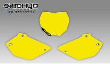 KIT ADESIVI GRAFICHE TABELLE YELLOW YAMAHA YZ 125 250 DAL 2002 AL 2014 DECALS