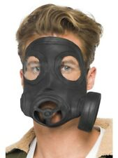 Gas Mask 40s Wartime Soldier Adult Unisex Smiffys Fancy Dress Csotume Accessory