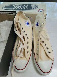 Made In USA Converse All Star Chuck Taylor Mens High Tops Sz 9 80's Vintage NIB