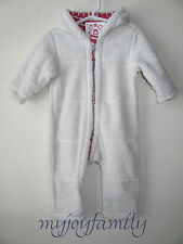 HANNA ANDERSSON Two in One Reversible Baby Bunting Canvas Macaron 70 9-18 mo NWT