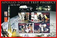 ANTIGUA 2006 SPACE / APOLLO-SOYUZ TEST PROJECT M/S MNH **