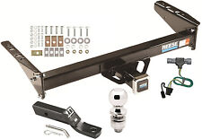 1992-1996 FORD F-150 COMPLETE TRAILER HITCH PACKAGE W/ WIRING KIT BALL & MOUNT
