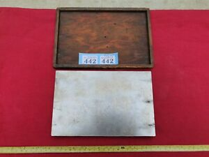 Vintage Engineers Cast Steel Surface Plate in Very Good Used Condition