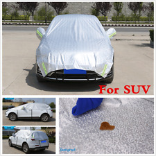 SUV Car Half Cover Waterproof Scratch Sun UV Dust Rain Snow Resistant Protection