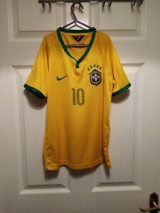 Brazil Neymar Jr Football Shirt Size 14. Age 9