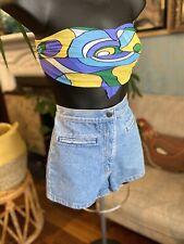 Vintage Womens  80s Denim Shorts