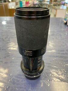 Tamron 80-210MM 1: 3.8 1: 4/210 CF Tele Macro BBAR MC 58 mm Camera Lens