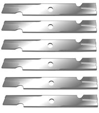 "6 USA MADE BLADES LAWN MOWER BLADES 52"" EXMARK 15/16"" CENTER HOLE 103-6402"