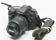 Nikon D7200 24.2MP Digital Camera - Black (w/ 18-55mm Lens) 8793 Shutter Count