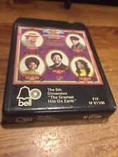 The 5th Dimension/ The Greatest Hits On Earth 1972 Bell Records-8 Track Tape