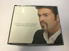 GEORGE MICHAEL Ladies & Gentlemen (1998) 2 CD BOX SET EX/EX W BKLT