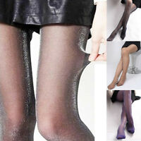 Women Ladies Fashion Sexy Glittery Shiny Tights Pantyhose Stockings