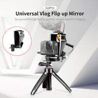 Ulanzi GP-5 Selfie Vlog Refraction Flip Up Mirror w/ Cold Shoe For GoPro 5/6/7/8