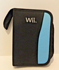 Game Disc And Controller Case Multi-Color Carry For Wii Blue