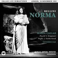 NORMA (LONDON LIVE 18/11/1952) - REMASTERED 2017 2 CD NEW+ BELLINI,VINCENZO