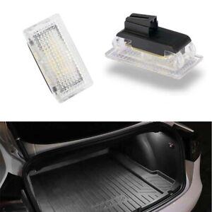 For Tesla Model 3 Model S Model X Car Interior BRIGHT White LED Lights Bulbs Kit