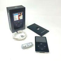 Apple iPod Classic 6th Generation Black 80GB Mint! A1238 MB147LL/A