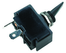 Boat Marine 3 Position Toggle Switch Black Plastic Paddle On/Off/On 16A 12VDC