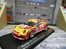 PORSCHE 911 997 GT3 R 24h Spa 2011 DHL De Lorenzi #18 Bonett Minichamps SP 1:43