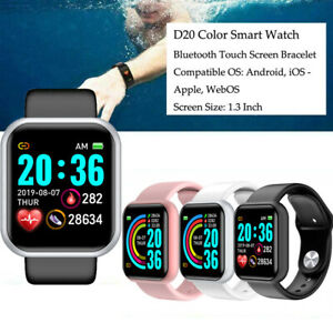 Waterproof Fitness Smart Watches Heart Rate Women Sport Tracker For iOS Android