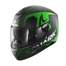 Cascos de motocicleta talla XL color principal verde para conductores