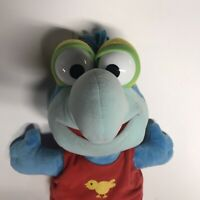 JIM HENSON'S MUPPET BABIES PLUSH GONZO Doll Vintage TOY PLAY 1980s - MINT COND.