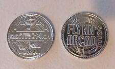 TRON LEGACY Flynn's Arcade Token - Lot of 5 Nickel Color - from DCA ElecTRONica