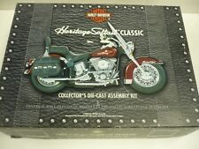 HARLEY DAVIDSON HERITAGE SOFTAIL CLASSIC COLLECTOR'S DIE CAST ASSEMBLY KIT MIB,