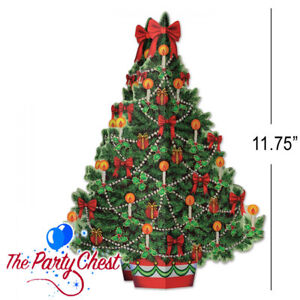 DECORATIVE 3D CHRISTMAS TREE TABLECENTRE Festive Xmas Table Decoration 20658