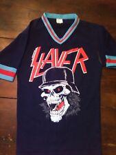 VTG SLAYER Concert Jersey Shirt 1989 Tour 80's iron maiden LAST ONE SZ SMALL