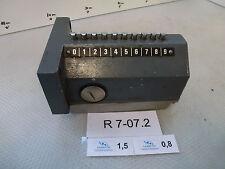 Elan RSD10D12.82 Reihen-Positionsschalter mit Dachstößel, 10 Nocken