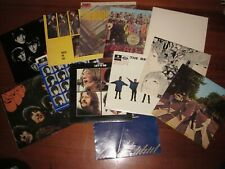 THE BEATLES - 12 LP COVERS ONLY NO VINYLS
