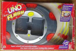 UNO Flash Kartenspiel elektronisch - Mattel mit Karten