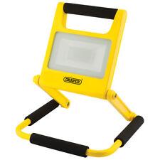 Draper folding LED rechargeable worklight. 10watt, 5 hour battery life.