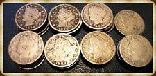 1 (One) 1898 Liberty Nickel, Below Good AKA SDS (Scratch & Dent Sale)
