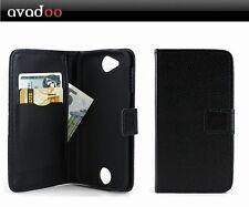 Avadoo ® Acer Liquid Jade Z PLUS FLIP CASE GUSCIO PROTETTIVO CUSTODIA MAGNETE NERO