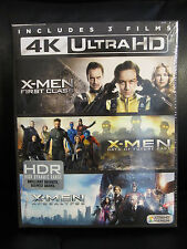 X-Men Prequel Trilogy 4K UHD + Blu-ray + Digital HD Set First Class Future Past