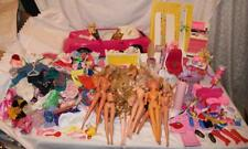 Barbie Doll HUGE Lot Vtg Dolls Clothes Accessories Porche Furniture Toys