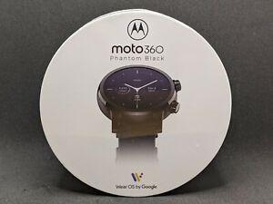 Motorola Moto 360 3rd Gen 2020 Wear OS Luxury Stainless Steel Smartwatch Genuine