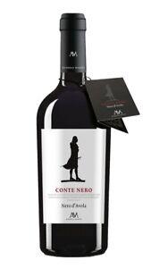 6x Nero d'Avola DOP Conte Nero (15,89€/L) Andreas Mazzei