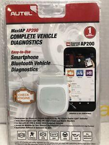 AP200 Advanced Smartphone Vehicle Diagnostics App AULAP200