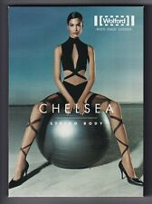 Ensemble WOLFORD CHELSEA Body Taille S + Stay-ups Taille M coloris Black/Black