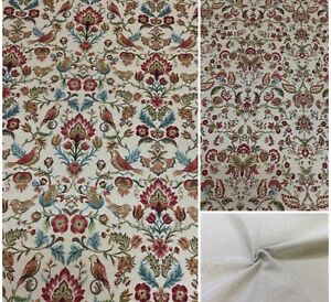 Chatham Glyn William/Morris Tapestry Style Fabric for Curtain/Upholstery/Cushion